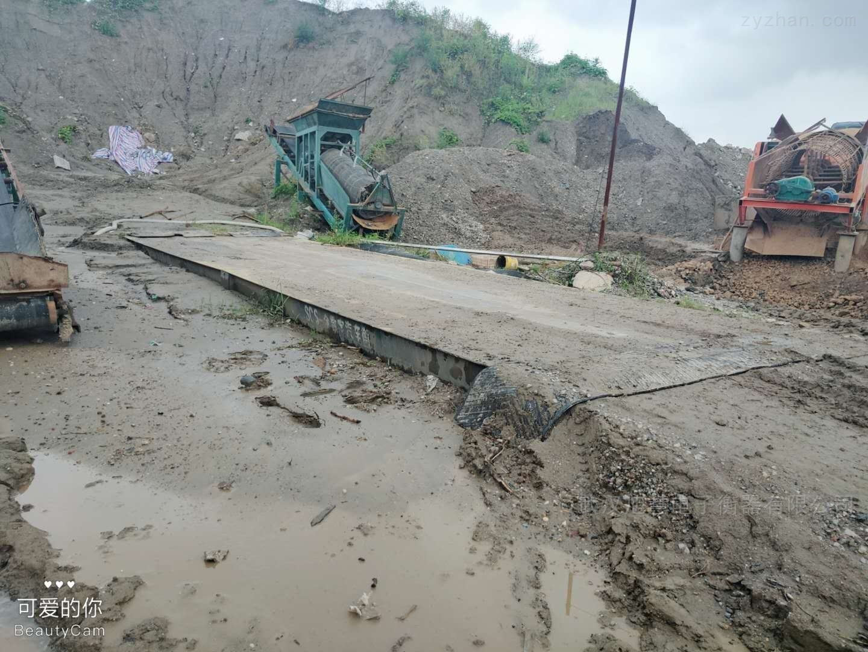 湖北省咸宁市嘉鱼县3*10米120吨地磅项目