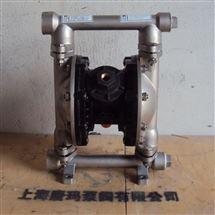 QBY-P不锈钢气动隔膜泵,耐腐蚀化工泵