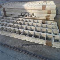 共成振动筛杨木筛框-木框直线筛