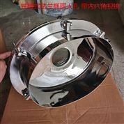 不銹鋼法蘭銑槽式橢圓人孔蓋100內六角視鏡