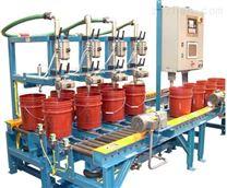 AKH-25kg油漆涂料溶劑全自動灌裝機