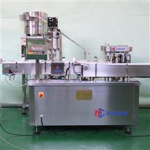 HCFGX雙頭粉劑灌裝機 粉末灌裝軋蓋機