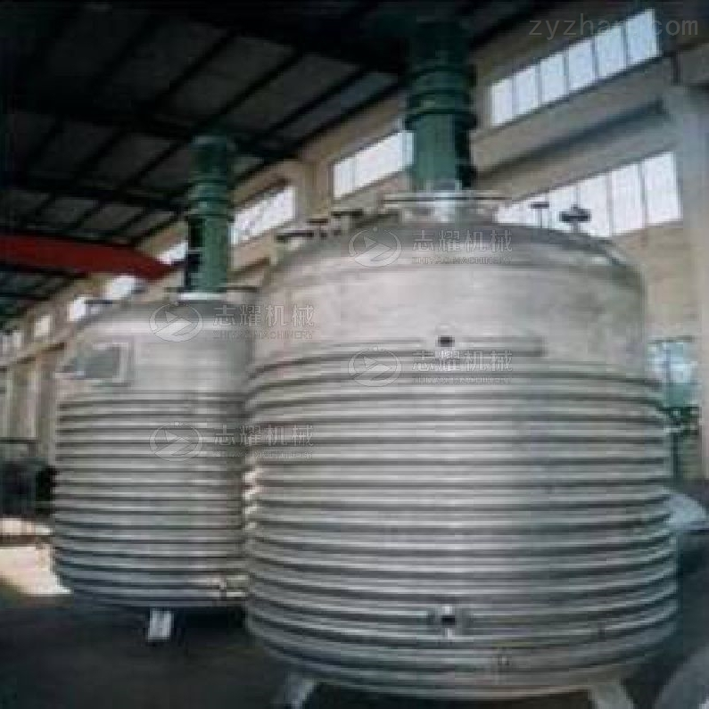 蒸汽加热外盘管反应釜