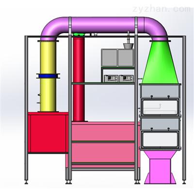 苏信ISO11155-1车厢用过滤器性能检测台