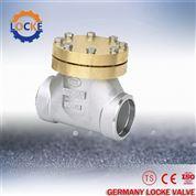 進口低溫不銹鋼止回閥產品優點-德國洛克