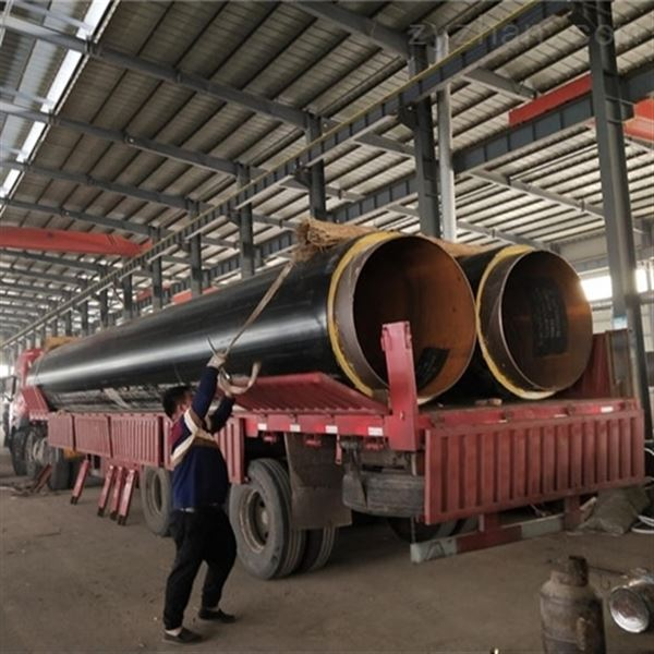 管径273聚氨酯地埋式架空蒸汽保温管道