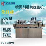 HCPGX系列喷雾剂灌装生产线
