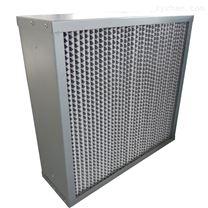 高效纸隔板空气过滤器阻力低容尘量大