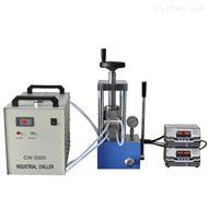PCH-600C型300℃双平板手动热压压片机