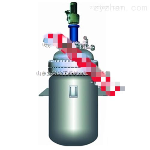 山东龙兴不锈钢汽加热反应釜  不锈钢反应釜 电加热反应釜