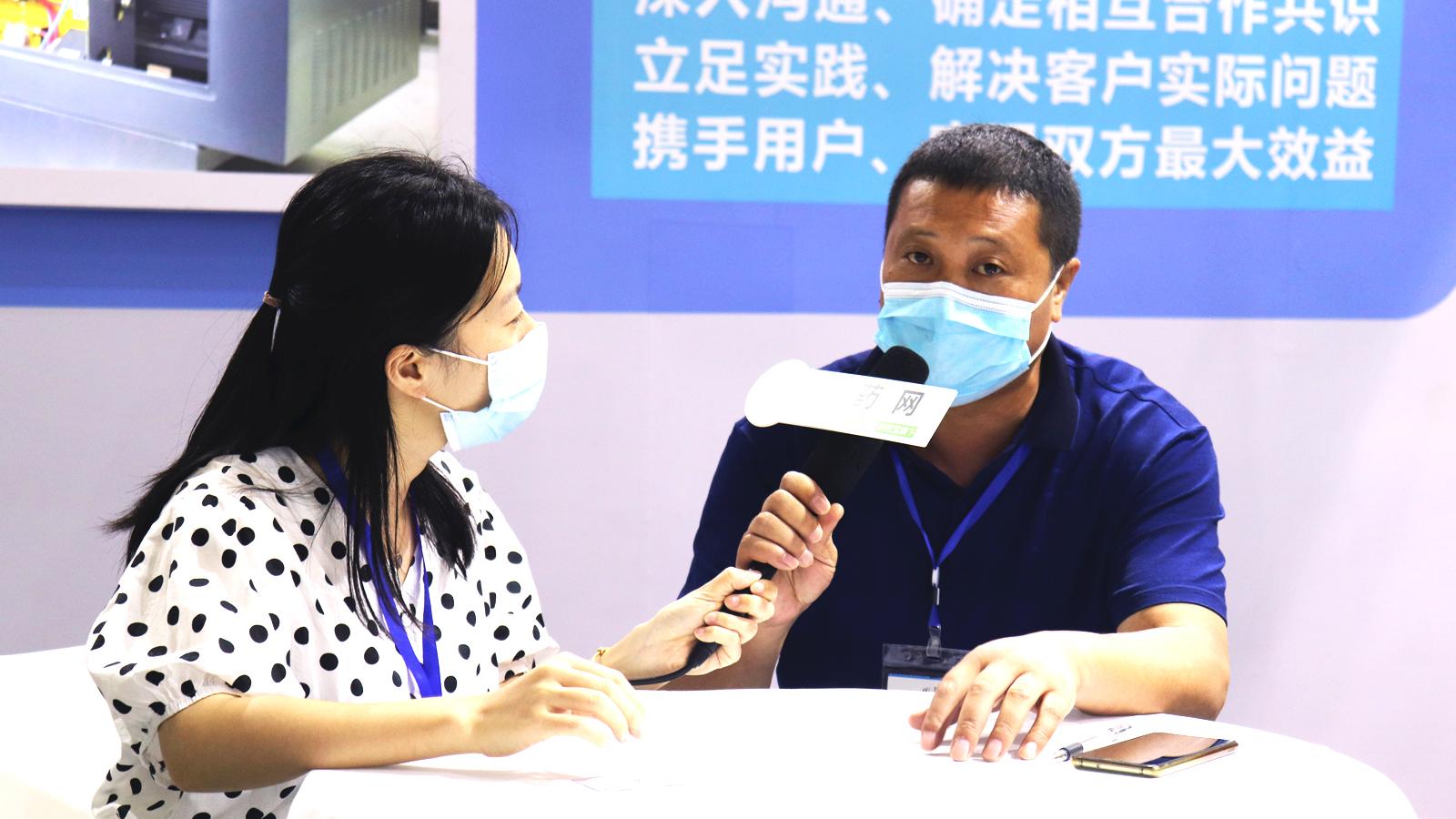 专访安徽普源分离机械副总经理杨信友