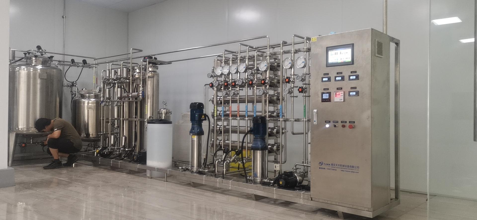 德州客户,纯化水设备调试完成!