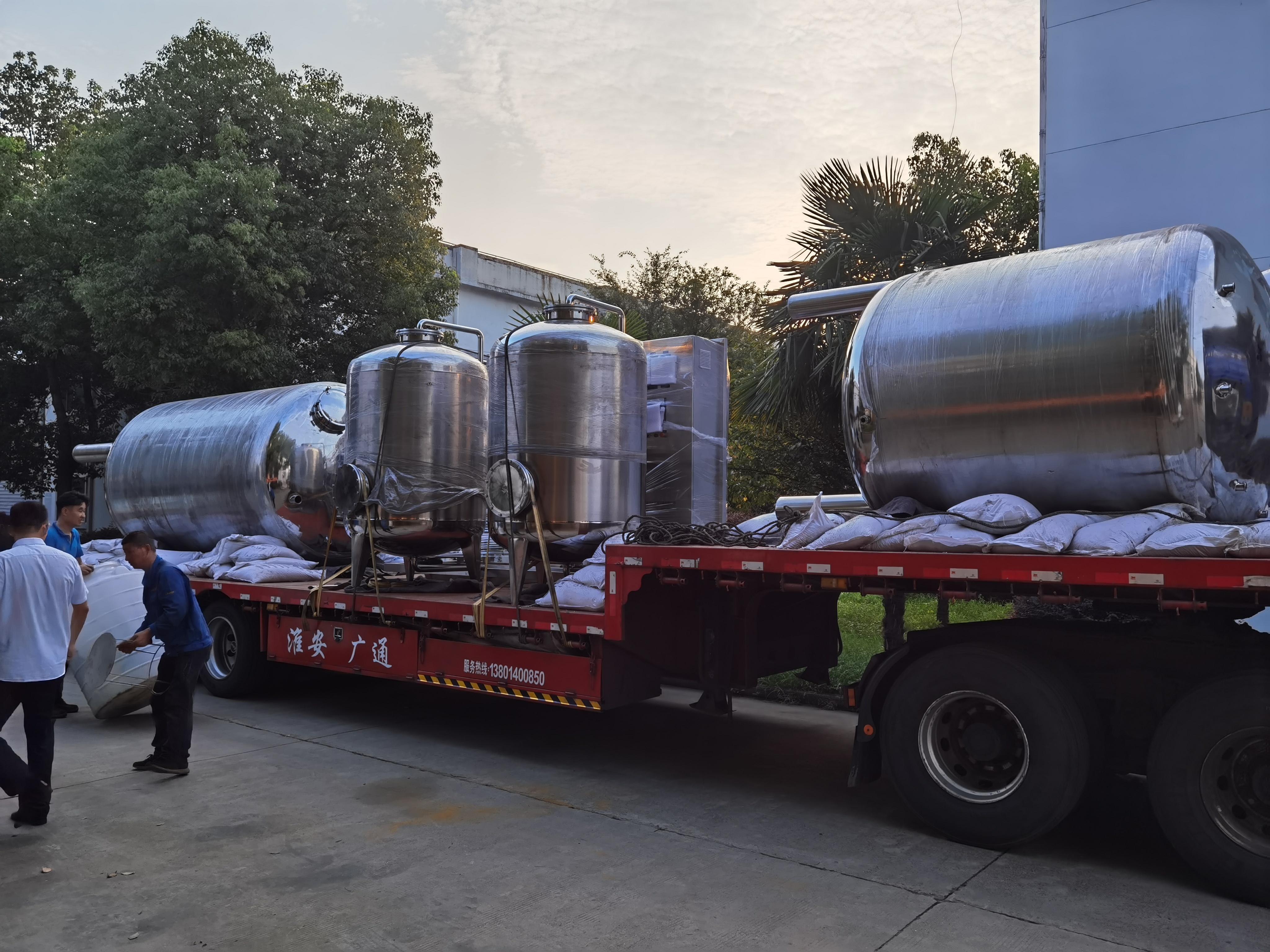 6T纯化水设备正在上货,发往浙江客户!!
