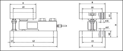 托利多称重模块结构图