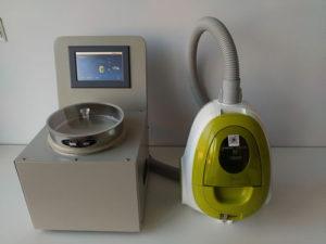 8.空气喷射筛分法气流筛分仪中的样品收集器的用途?